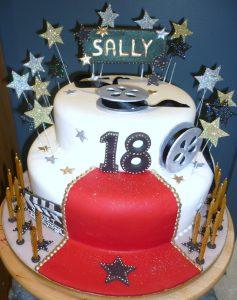 Cake Decorating Classes Birthday Cake of Sally